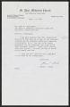 Reverend Glenn E. Black correspondence