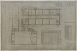 Cleveland Junior High School, Alteration / Addition, Second Floor Plan