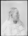 Dakota woman, Mrs Lost Horse. U. S. Indian School, St Louis, Missouri 1904