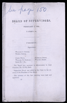Board of Supervisors Minutes, February 2, 1864, containing the resolution authorizing payment to Albro Lyons