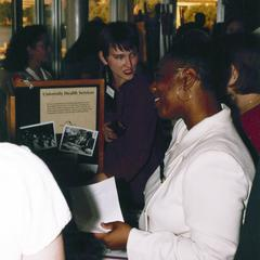 Academic/support resource fair at 1999 MCOR