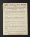 "Publications. Bulletins, 1918-1960. """"Colored Workers"""" Bulletins, circa, 1945-1950. June 1945 - October 1945. (Box 56, Folder 1)"