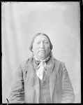 Front view of Chief Bull Bear. Oklahoma. U.S. Indian school 1904