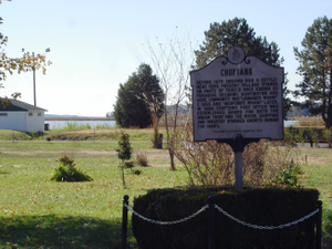 Harriet Tubman Underground Railroad Byway - Choptank Settlement Plaque