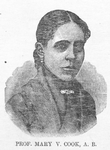 Prof. Mary V. Cook, A. B