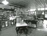 Ella P. and William Stewart pharmacy, interior