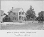Home of Negro landlord, Thomasville, Ga.; Tenant houses adjoining