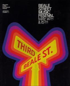 1977 Beale Street Music Festival Program