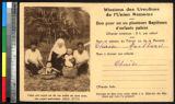 Nun, mothers, and children, India, ca.1920-1940