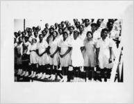 African-American 4-H club girls, circa 1940