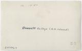 Folder 0624: Greensboro: Schools: Bennett College, 1930: Scan 2