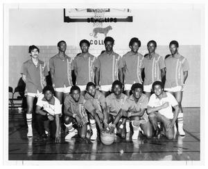 1970-1971 St. Philip's College Basketball Team