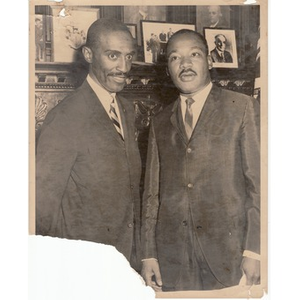 Reverend Michael E. Haynes and Reverend Martin Luther King, Jr.