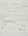 Charles B. Johnson correspondence, business records and receipts, 1865