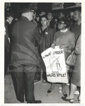 Police Confront Demonstrators at George Wallace Rally
