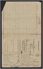 Teacher's monthly reports, Williams Chapel school, 1934-1935