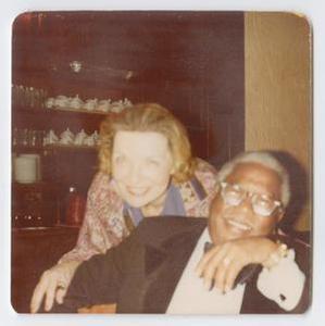 Roy Eldridge and woman