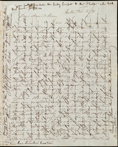 Letter from Caroline Weston, Boston, [Mass.], to Maria Weston Chapman and Henry Grafton Chapman, Feb. 12 / [18]41