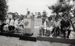 California African American Museum ground breaking event speaker, Los Angeles, 1983