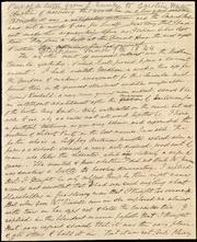 Partial letter to Caroline Weston] [manuscript
