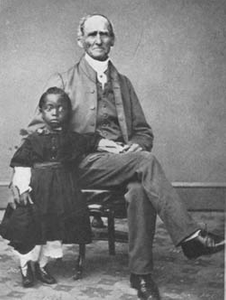 Joseph Carpenter and unidentified African American child