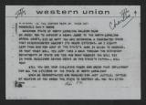 Telegram: Reverend J. A. Brown to Gov. Dan K. Moore, March 20, 1968
