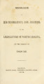 Documents printed by order of the General Assembly of North Carolina at its session of ...[1846; 1847] Legislative documents