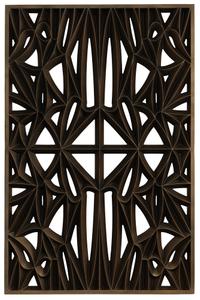 Corona panel designed for NMAAHC (Type E: 85% opacity)