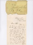 Letter to Rosie True, December 11, 1863