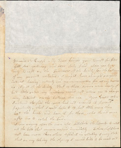 Letter from Arnold Buffum, [Philadelphia, Pennsylvania], to William Lloyd Garrison and Isaac Knapp, 1834 Nov[ember] 18
