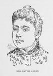 Miss Hattie Green. Teacher