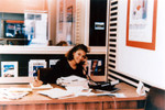 Travel agency office
