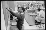 [Harlem resident Harold Davis preparing for medical school at Wesleyan University as part of a program for inner city youth]
