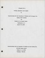Box 7, Folder 7: Cultural Experience Pilot Project, 1973
