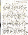 A letter from S. Nelson to George A. Washington