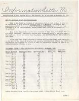Information Letter No. 1