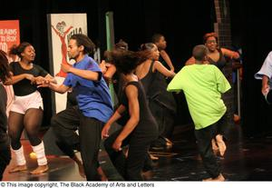 Group of Young Dancers on Stage Hip Hop Broadway: The Musical