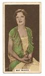 May McAvoy cinema card