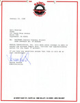 Letter from Radich Construction to Gail Charles
