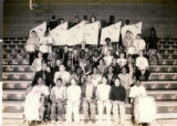 Portrait photograph of Charles I. West Middle School Band
