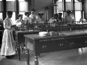 Cooking Class, Hampton Institute