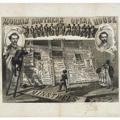 Morris Brothers Opera House Minstrels