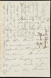 Letter from Maria Weston Chapman, 20 Chauncy St., Boston, [Mass.], to James Miller M'Kim, June 4, 1865