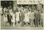 Junior Auxiliary NAACP Delegates in Cleveland, Ohio with W. E. B. Du Bois (front center) and William Pickens (front, 3rd from the right)