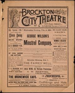 George Wilson's Minstrel Company