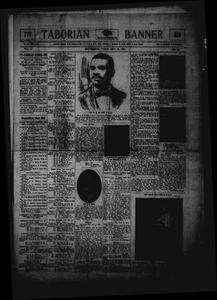 Taborian Banner (Galveston, Tex.), Vol. 2, No. 10, Ed. 1 Friday, July 20, 1906 Taborian Banner