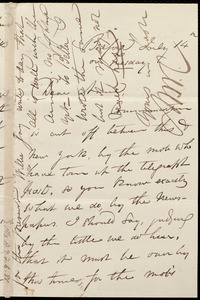 Letter from Maria Weston Chapman, Bedford, [NY], to Anne Warren Weston, July 14th, [1863?], on Tuesday