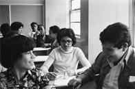 Students at Junior High School 149, 1976