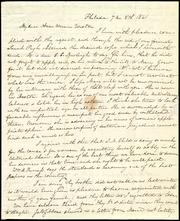 Letter to] My dear Anne Warren Weston [manuscript