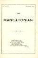 The Mankatonian, Volume 11, Issue 4, December 1899